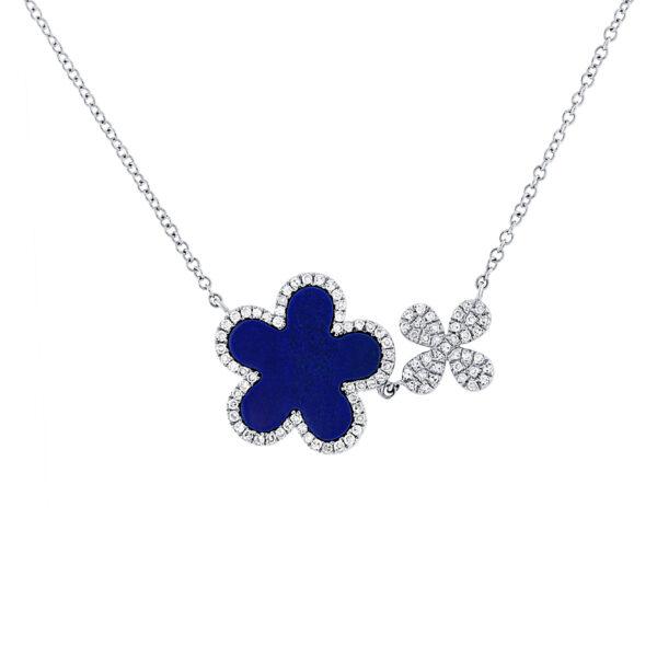 lapis lazuli stone necklace